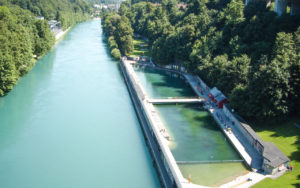 Lorraine河邊泳池