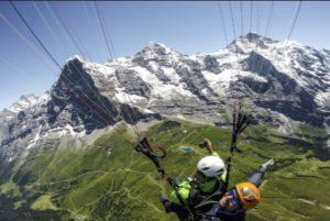 瑞士滑翔傘1