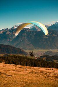 茵特拉根滑翔傘