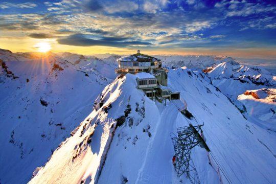 歐洲屋脊少女峰