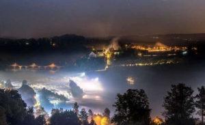 萊茵瀑布燈光秀