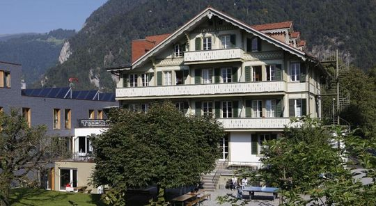 1. Chalet Hostel @ Backpackers Villa Interlaken