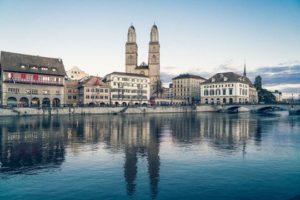 瑞士蘇黎世大教堂