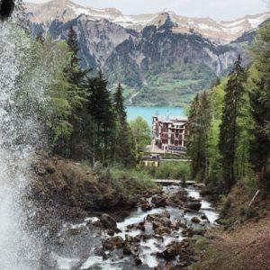 Giessbach fall