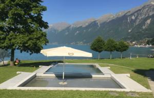 瑞士Brienz lido海水浴場