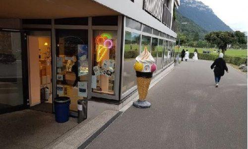 茵特拉根Azzurra冰淇淋