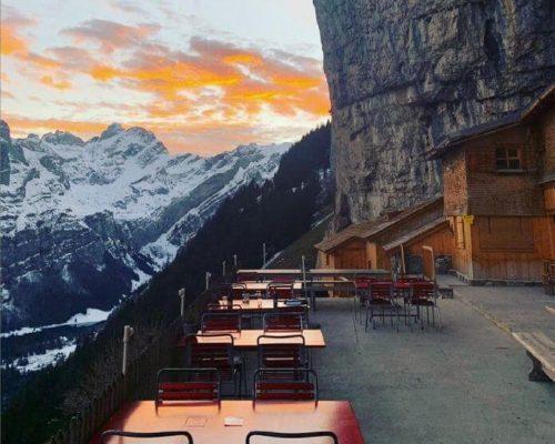 瑞士懸崖餐廳